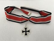 German Wwii 1957 Style Collectorandrsquos Knightandrsquos Cross With Neck Ribbon