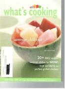 Kraft What's Cooking 2005 Magazine Summer Chill-out 20+ Bbq Recipe Grill Chicken