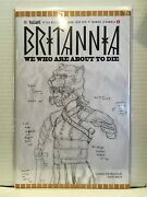 Britannia We Who Are About To Die 110 Variant Nm- 1st Print Valiant Comics