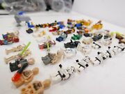 Lego Minifigures Mix Lot Of 50+ Star Wars And Others Free Shipping