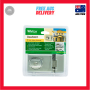 New Whitco Chrome Double Cylinder Deadlatch Left And Right Hand Opening Doors