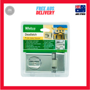 Whitco Bright Chrome Double Cylinder Deadlatch Left And Right Hand Opening Doors