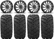 Msa Blade 20 Wheels Milled 30 Reptile Tires Can-am Maverick X3