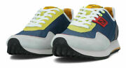Replay Rs2m0009t Drum Wave Sneakers Shoes Man Laces Casual Dark Blue
