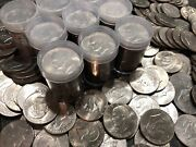 Lot Of 100 Eisenhower Ike Dollars Circulated Or Better Many Unc 1971-1978