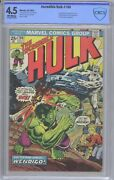 Incredible Hulk 180 Cbcs 4.5 1st Appearance Wolverine