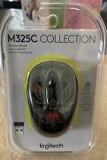 Logitech Wireless Mouse With Receiver M325c 910-005337 New