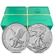 Monster Box Of 500 - 2021 1 Oz Silver American Eagle 1 Coin Bu Type 2 25 Roll