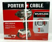 Porter-cable Max Impact Driver Kit Pcck647lb Brand New And Sealed