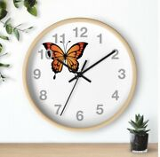 Gorgeous Butterfly Wall Clock Handcrafted By Me