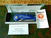 Boker Tree Brand Odessey 2001 Limited Edition 176 - Nos/rare