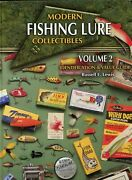 Modern Fishing Collectible Lures Reels Rods - Types Makers Dates / Book + Values