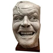 Hereand039s Johnny Sculpture Of The Shining Resin Desktop Ornament Bookend Library