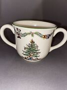 2003 Disney Spode Christmas Tree Childrenandrsquos Set - Cup/bowl - Mickey Mouse