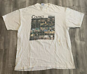 Vintage 90s Contact Movie Tee Shirt Film Tour Size Extra Large