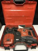 Hilti Te 30 A 36 A36 Cordless Hammer Drill 36v Complete Kit G534
