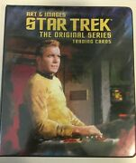 Star Trek Tos - Art And Images - Master Trading Card Set - Shatner Nimoy Autos
