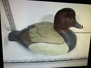 Ducks Unlimited Tom Taber Encore Collection Redhead Decoy