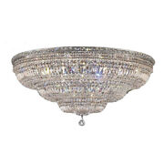 Crystal Ceiling Lamp Luxury Empire Ceiling Light Large Foyer Entryway Chandelier