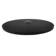 36 Inch Diameter Round Fire Pit Cover Snuffer Lid Galvanized Steel Plated