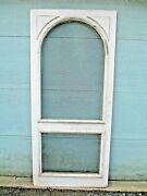 Door Vtg Brass Screen Pocket Pantry Country French Garden Architectural Salvage