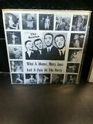The Beatles, What A Shame, Mary Jane Had A Pain At The Party, 1979, R8028 12