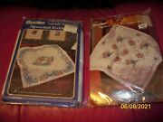 Bucilla - Stamped C/s Kit - Lap Quilt/wall Hanging - Special Edition - U-pick 1