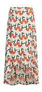 Fabienne Chapot Skirt Sunset Design Maxi Size L 12 14 Brand New With Tags Iris
