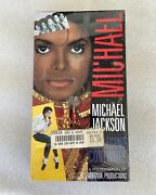 Michael Jackson - The Legend Continues Vhs 1989 Brand New In Wrapper