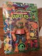 Tmnt 1994 The Mutant Raphael Moc W/collector Card Pink Accessories Variant