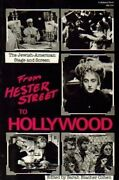 From Hester Street To Hollywood Jewish-american Stage And By Sarah Blacher