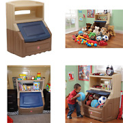Storage And Bookcase Chest For Toy Organization Large Display Shelf Ages 2 And Up