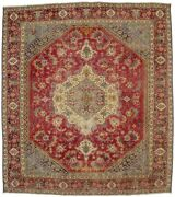 Floral Antique Traditional Rare Size 11x13 Muted Distressed Oriental Rug Carpet