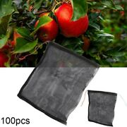 Mesh Bags Fruit Protect Drawstring Anti Bird Netting For Pest Control Protection