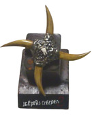 Jeepers Creepers Throwing Star Tooth Figure