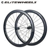 700c Road Disc Carbon Wheels Cyclocross Road Cycling Wheelset Low Resistance