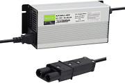48v 6a Battery Charger For Yamaha Golf Cart G19 G22 With 2 Pin Plug, 48 Volt 6