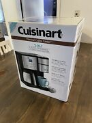 Cuisinart 10-cup Thermal Single-serve Brewer Coffeemaker And Coffee Canister New