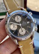 Omega Speedmaster Black Reverse Panda Dial Menand039s Reduced Automatic 1990s Watch