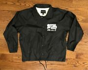 Rare Loon Mountain Nh Street Cred Red Bull Forum Snap Button Jacket Large