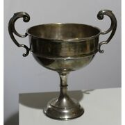 Antique 20th Original Rare English 925 Silver Cup Combined Figure Skating 1046g