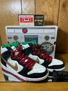 Nike Sb Dunk High Black Sheep Paid In Full Special Box 313171-170 S 10