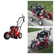 Gas Powered Lawn Edgers Blade Angle Adjusts Degrees Bevel Edging Metal Frame