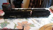 Lionel 2046 Hudson 4-6-4 Steam Locomotive Runs Forward And Reverse And 2466wx Tender