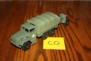 Timmee Processed Plastic 2.5-ton Army Truck And Tarp And Cannon Co - Marx Mpc