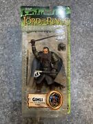 Lord Of The Rings Fellowship Of Ring Gimli Axe Throwing Action Figure Toy Biz