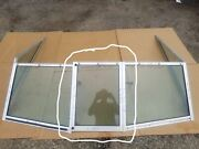 Carnival Ski Boat Runabout Center Middle Windshield Glass Window