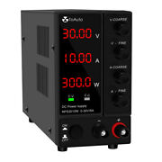 Dc Power Supply Variable Adjustable For Electrolysis 30v 6a/10a Led Display Us