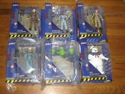 Real Ghostbusters Select Complete Set Egon Spengler Peter Ray Winston