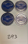 Zenith Wire Wheels Chips Emblems Campbell California Blue 293 Chrome Size 2.25andrdquo